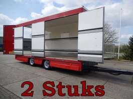 closed box trailer KMA & Netam Fruehauf 2 As Wipkar Gesloten, 2 Deuren Achter, 4 Deuren Rechts,...