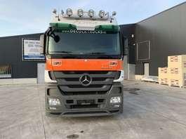 container truck Mercedes Benz ACTROS 1836 EURO 5 HAAKSYSTEEM NIEUWSTAAT 2010
