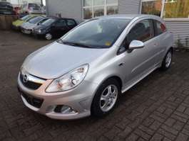 sedan car Opel Corsa D 1,0 Edition/Klima/Scheckheft 2008
