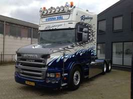 heavy duty tractorhead Scania T164 GA 6X4NB 480 2004