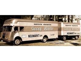 closed box truck MAN verhuiswagen 1957