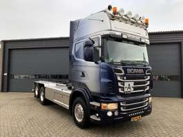 container truck Scania R 730 B 6X2 2011