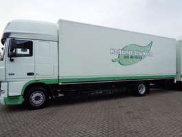 closed box truck DAF XF 105.410 + Euro 5 2009