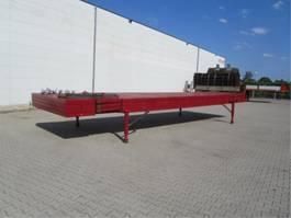 flatbed semi trailer Lintrailers 4 Stuks ongebruikt 2020