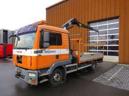 caminhão guindaste MAN TGL 12.240 4X2 mit HMF 503 K2/5 2008