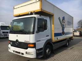 closed box truck Mercedes Benz ATEGO 1023 6Cilinder 2004