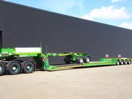 lowloader semi trailer Faymonville STBZ-4VA / LOW-LOADER / EXTENDABLE / 2-D DOLLY / RADIO-REMOTE 2011