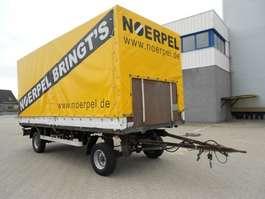 tilt trailer Gerblinger 2 As, Vrachtwagen Aanhangwagen Gesloten - Huifzeil 2003