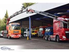 грузовая платформа MAN TGA 41.530 8x4, Fassi F 450 XP + Jib, Retarder, Truckcenter Apeldoorn, k... 2004
