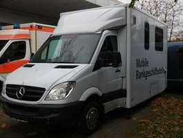 semi-integraded camper Mercedes Benz 311 CDI , mobile Bank 2008