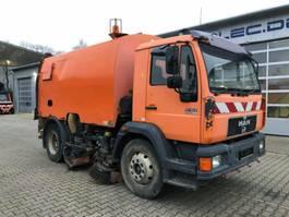 road sweeper MAN 15.163 4x2 Kehrmaschine FAUN AK460 guter Zustand 1998