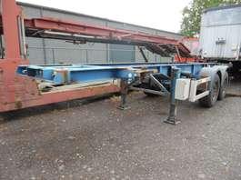 semirreboque de chassi de contentor Renders containerchassis 20 voet, type EURO 700 2001