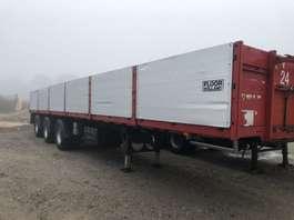 flatbed semi trailer Floor Steenoplegger APK gekeurd 1991