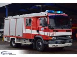 пожарный автомобиль DAF 45 - 180, Rosenbauer, Crew cab, Firetruck - Feuerwehr, Truckcenter Apeld... 1995