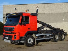 container truck Volvo FMX 500  6X4   CONTAINER SYSTEEM - CONTAINER HAAKSYSTEEM -SYSTEME CONTENAIR 2011