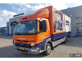 camião de caixa fechada Mercedes Benz Atego 816 Day Cab, Euro 5, - NL Truck - 2011