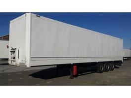 closed box semi trailer Krone Dry liner / kleding 2010