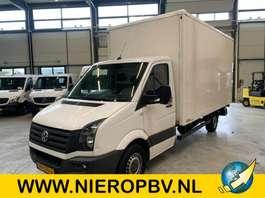 closed box lcv Volkswagen CRAFTER bakwagen laadklep airco 2015
