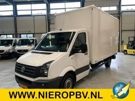 закрытый короб ЛКТ < 7.5 t Volkswagen CRAFTER bakwagen laadklep airco 2015
