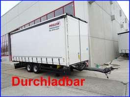 tilt trailer Möslein TPW 105 D Schwebheim  Tandem- Schiebeplanenanhänger zum Durchladen 2018