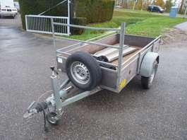 closed box car trailer hoka enkelasser geremd