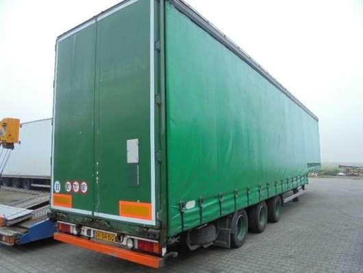 sliding curtain semi trailer Pacton 3 axle semie tautliner/slidingroof 2003