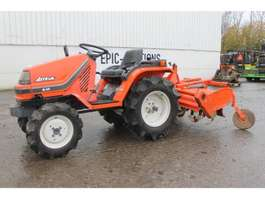 mini - compact - garden tractor Kubota Aste Pal A14 Mini Tractor Met Frees