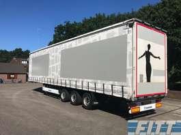 sliding curtain semi trailer Krone MEGA 3 ass schuifzeil/schuif-hefdakSD 2011