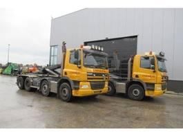 camion conteneur DAF CF85 460 8x4 Haakarm Euro 5 2009