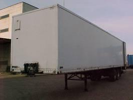 closed box semi trailer Floor 2 as 1986