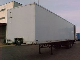 semi-remorque à box fermé Floor 2 as 1986