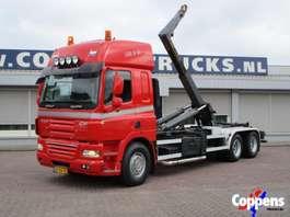 camion conteneur DAF 85 CF 410 6x2 Haakarm Euro 5 2008