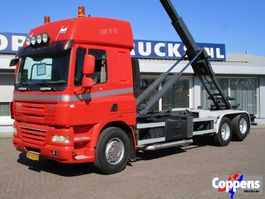container truck DAF 85 CF 410 6x2 Haakarm Euro 5 2008