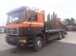crane truck MAN 33.463  6X4 1996