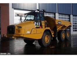 camion à benne sur roues Caterpillar 725C 6x6 Retarder Articulated truck 2014