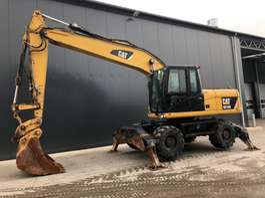 wheeled excavator Caterpillar M318D 2010