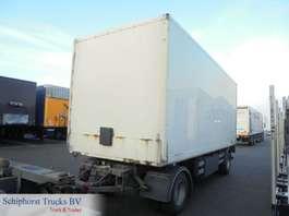 closed box trailer Trouillet Closed box trailer 1996