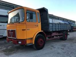 camion a cassone ribaltabile MAN 19.280 - 3x Sides Tipper 1982