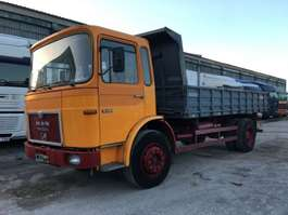 tipper truck MAN 19.280 - 3x Sides Tipper 1982