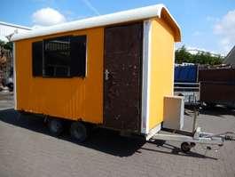 andere PKW-Anhänger Atec 2 As Schaftwagen - Pipowagen - Verkoopwagen, WG-XD-84 Opknapper! € 2.500... 2003
