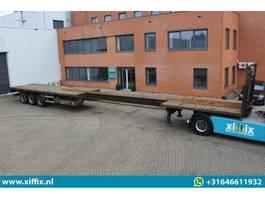 flatbed semi trailer HRD 3-ass. Vlakke uitschuifbare oplegger // Naloop gestuurd 2006