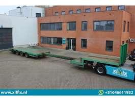 semi lowloader semi trailer Broshuis 4-ass. Uitschuifbare semi dieplader 2000
