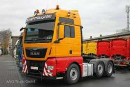 heavy duty tractorhead MAN 26.480 TGX 6X2 Euro 6 XXL Vorlaufachse gelenkt 2015