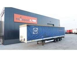 sliding curtain semi trailer Krone alu dropsides, BPW, timberstakes, huckepack 2008