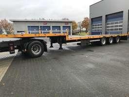 semi lowloader semi trailer Lako SDT 3-asser Semi 2000
