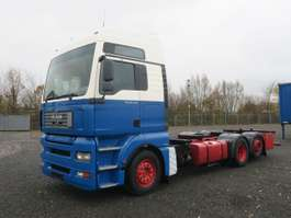 ciężarówka z nadwoziem wymiennym MAN 26.430 LL TGA BDF 6x2 Volluft Intarder 2006