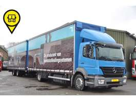 sliding curtain truck Mercedes Benz AXOR 1826LL VOLUME COMBI 2010