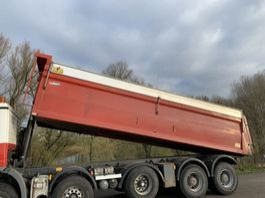 Tipper truck part - Hyva 34 kuub 34 m3 kipperbak kipper geïsoleerd asfalt 2007