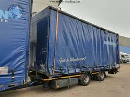 sliding curtain trailer Pacton verwisselbare opbouw 2001