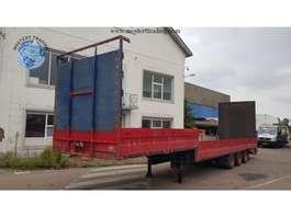 semi lowloader semi trailer Vogelzang 882SD 1987
